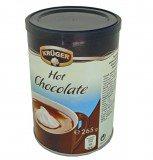 Растворимый напиток Krüger Hot Chocolate (Крюгер Горячий Шоколад) 265 г, туба из металлизированного картона