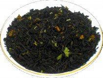 Чай черный HANSA TEA Клубника со сливками, 500 г, фольгированный пакет, крупнолистовой ароматизированный чай, купить чай