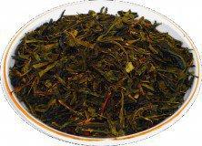 Чай зеленый HANSA TEA Мята сенча, 500 г, фольгированный пакет, крупнолистовой зеленый ароматизированный чай, купить чай