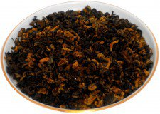 Чай черный  Красная спираль (Хун Би Ло), 500 г, крупнолистовой индийский чай
