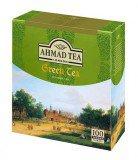 Чай зеленый Ahmad Green Tea (Ахмад Зеленый чай), пакетики с ярлычками, 100 саше по 2г.