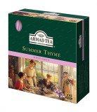 Чай черный Ahmad Summer Thyme (Ахмад Летний Чабрец), пакетики с ярлычками, 100 саше по 1.8г.