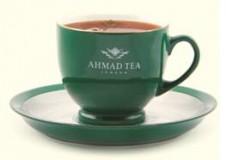 Чайная пара Ahmad, чашка + блюдце