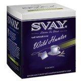 Чай Svay Wild Hunter (Дикий охотник) Черный пуэр (20саше по 2гр.)