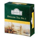 Чай черный Ahmad English Tea No 1 (Ахмад Английский чай № 1), пакетики с ярлычками, 100 пак. по 2г.