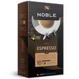 Кофе в капсулах Noble Espresso (Эспрессо), упаковка 10 капсул по 5,3 гр, для кофемашин Nespresso