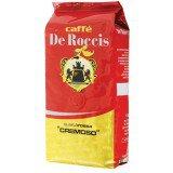 Кофе в зернах De Roccis Rossa Cremoso (Де Роччис Росса Кремосо), 1 кг, вакуумная упаковка