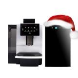 Суперавтоматическая кофемашина Dr. Coffee F11 с увеличенным бункером воды + охладительное оборудование
