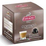 Кофе в капсулах Carraro Cortado 16 шт\уп формата Dolce Gusto