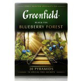Чай в пирамидках Greenfield Blueberry Forest 20шт в упаковке