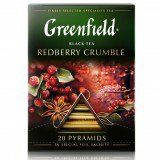 Чай в пирамидках Greenfield Redberry Crumble 20шт в упаковке