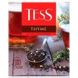 Чай черный Tess Thyme, 100 пакетиков в упаковке