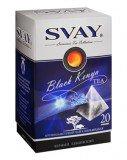 Чай Svay Black Kenya черный Кенийский крупнолистовой (20 пирамидок по 2,5гр. в уп.)